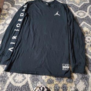 Air Jordan Shirt color black